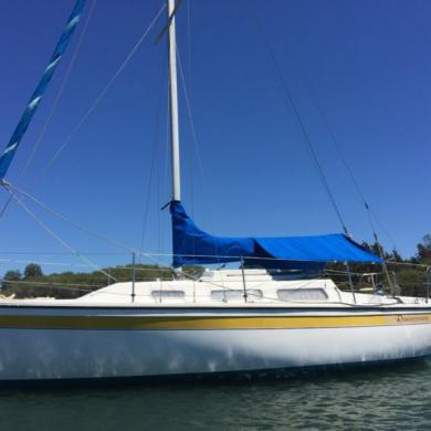 Catalina Boomaroo 25 Sailboat - Swing Keel for sale in Australia